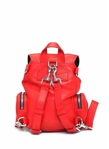 McQ Alexander McQueen Sırt Çantası Kırmızı